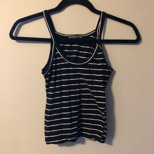 BRANDY MELVILLE Striped Crop Tank Top Size S